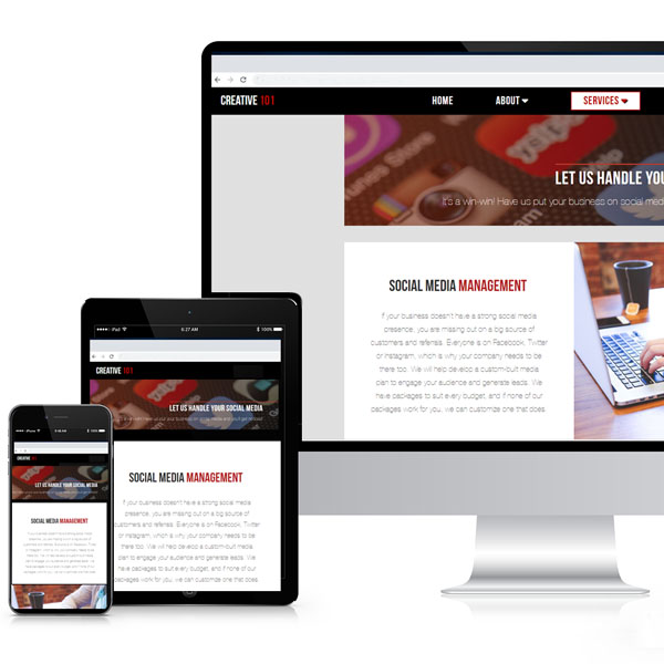 Mobile & Responsive Web Sites