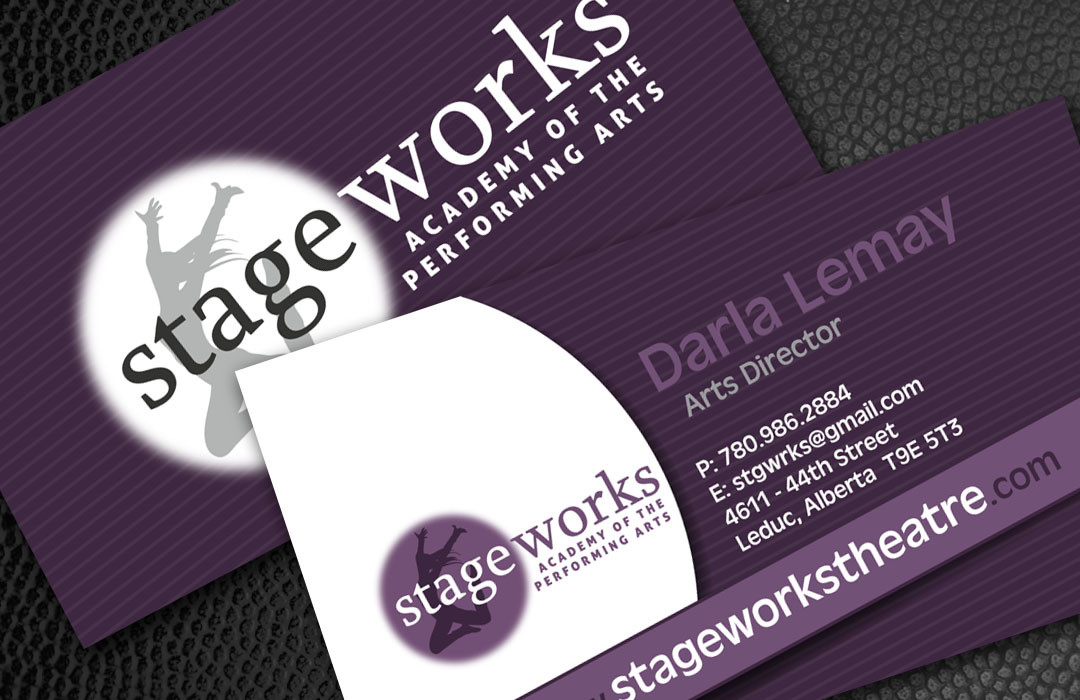 Stageworks Business Cards